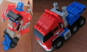 KRE-O Optimus Prime 31143 by aim11