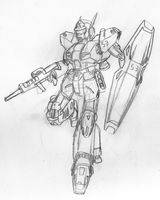 Heavygun Sketch by Blayaden