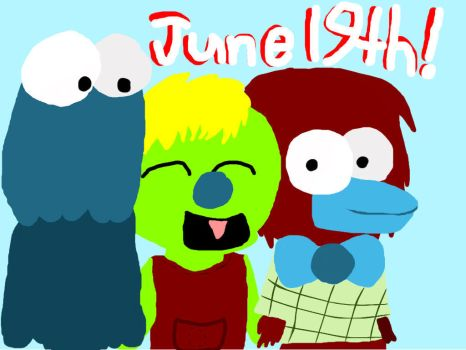 Happy June 19th! by BoristheSheepyWolf