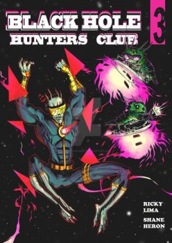 Black Hole Hunters Club #3 Cover by prettygoodart
