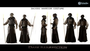 Daikas costumes for Dark Resurrection by TheIronRing