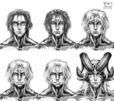 Karl Sketch x6 by Blade-Fury