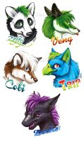 2014 Megaplex Badges by GoldenDruid