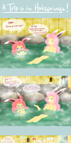Rosabelle's Trip to the Hotsprings.. by Eeveelutions95