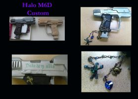 Custom Halo M6D by Chesca01