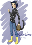 The name's Coraline, Coraline Jones by Ch4rm3d