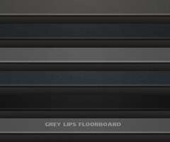 Grey Lips Floorboard by SOONXOON