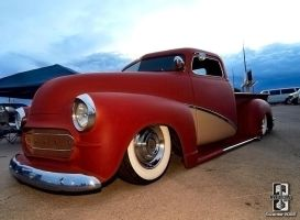 Red Suede Truckin by Swanee3