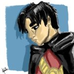 Tim Drake, Red Robin by VioletParrNarnia
