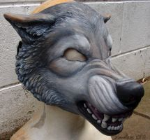 Wolf Mask by zarathus