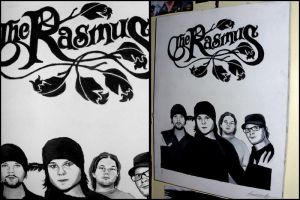 The Rasmus canvas. by Finnish-Penguin