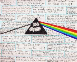 Pink Floyd Lyric Tribute by elmothealien