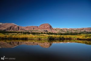 The Reflection of Flat Top by mjohanson