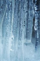 frozen waterfall 2 by LucieG-Stock
