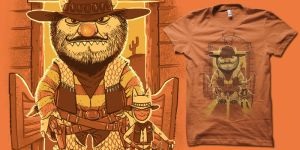wild west things t-shirt by biotwist