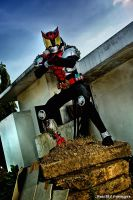 Kamen RIder Kiva by hellsign