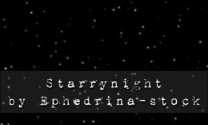 Starrynight brushes by ephedrina-stock