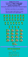 Cosmo -sprite sheet- by TheBlox
