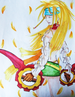 Rikku: Face the Future by Airyu