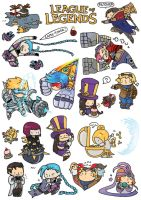 LOL - Sticker (Piltover) by Sim-Song