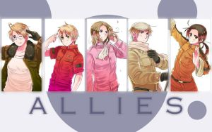 APH: Allies by Hikari-Dragonslayer