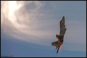 Raptor Climb by AirshowDave