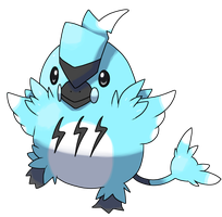 purchasable fakemon 2!  50 points! by RockCandyFireworks