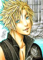 Card - Cloud FF7 AC by ChristAll