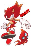 Super Sonic Colors -Super Burst Sonic by Hero-Jaxx