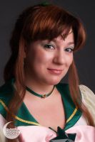 Sailor Jupiter - Close Up by DarkMoonProject