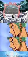 Zoro's Sacrifice by CodeNameZimbabwe