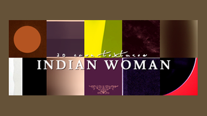 Indian Woman by innocentLexys