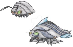 Isopod Pokemon by JoshKH92