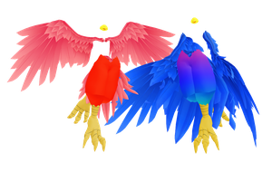 MMD Birds Sets DL by 2234083174