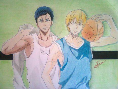 Aomine and Kise by MATTimagine
