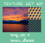 Texture Set #21 by rosynic87