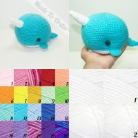 Customizable Narwhal by Heartstringcrochet