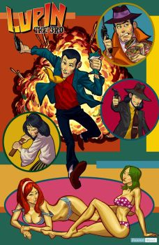 Lupin the Third by juarezricci
