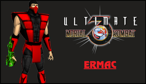 Ultimate Mortal Kombat 3 Ermac by HollowBerserk