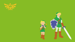 Young Link and Adult Link by Persian7