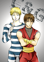 Cody and Guy (Colored) by amy801204