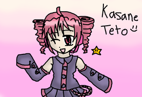 Kasane Teto by GrayAoi