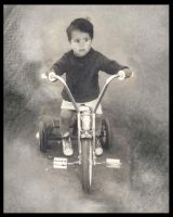 His tricycle... by metalromantica