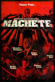 Machete Poster by Mgl-23