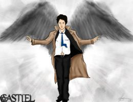 Castiel-the angel of the lord by MissHeroes94