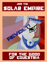 Solar Empire poster by Lawlsomedude