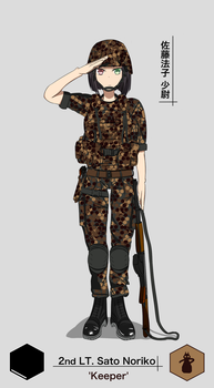 LT Sato Noriko, 'Keeper' Equipped version by MidoriNekoKun