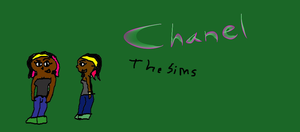 Chanel from the Sims by SonicFreak4455
