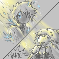 Guardians Sketches - An Angel's Death by Kasugaxoxo