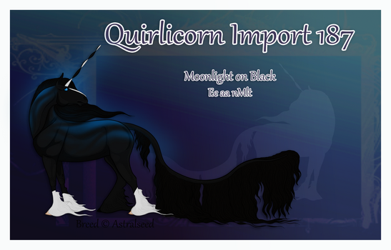 Quirlicorn Custom Import 187 by Astralseed